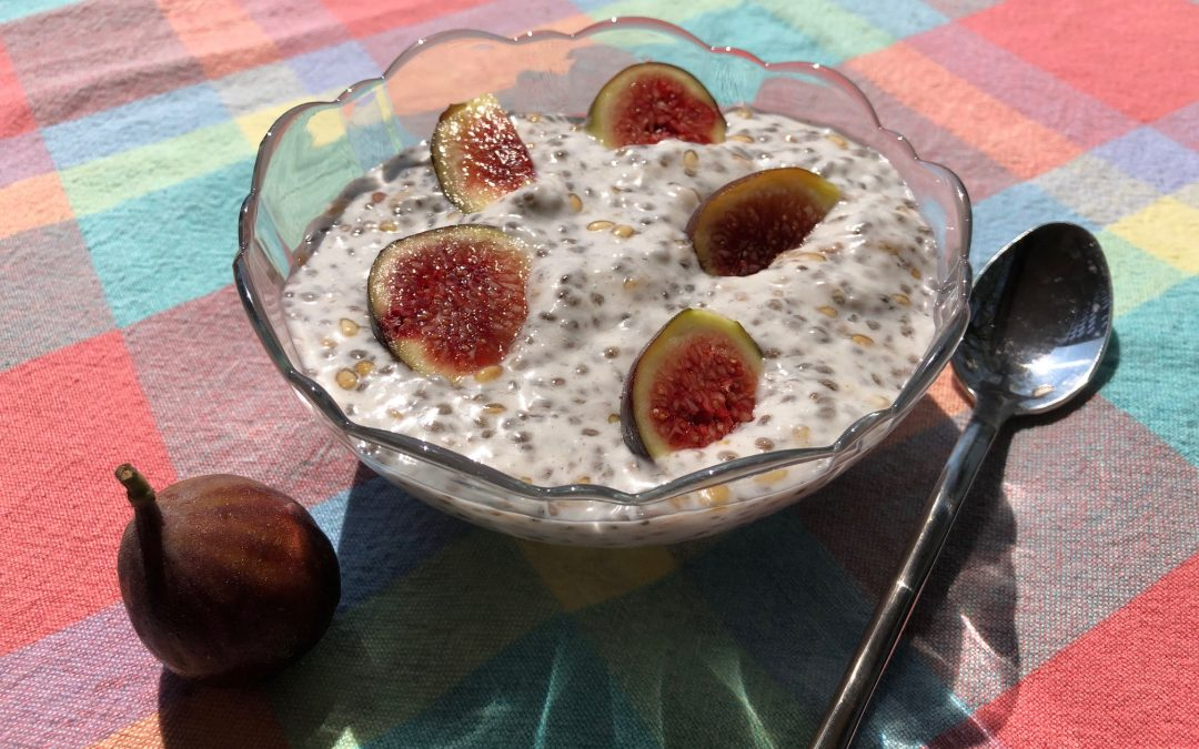 Cindy's Coconut Chia Pudding