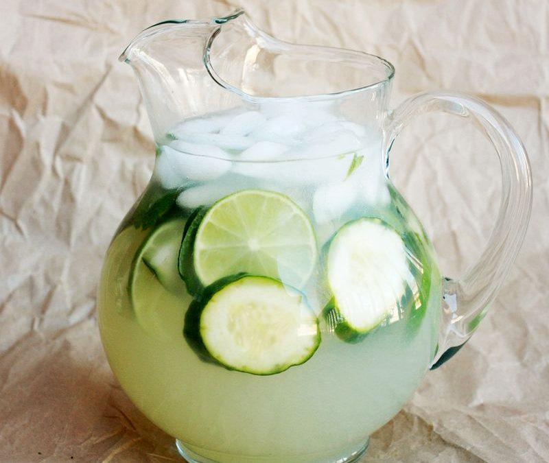 Cooling Cucumber Limeade